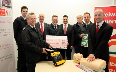 AED für die Feuerwehr Waldbröl